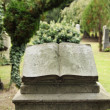 Book tombstone — Stock fotografie #33651799