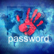 Stock Photo: Password