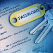 Password code — Stock Photo