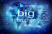 Big brother is watching you — Foto de Stock