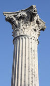 Grecian pillar — Stock Photo