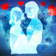 Stock Photo: Internet love