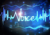 Voice recognition — Stock Photo