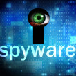 Stock Photo: Spyware