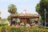 Vintage carousel — Stock Photo