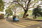 Tuktuk on the road — Stock Photo