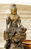 Buddha bronze statue — Stock Photo