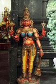 Hindu tanrıça heykeli — Stok fotoğraf