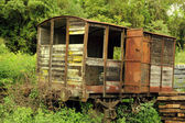 Decayed train — Stock Photo