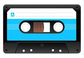 Icono de cassette de audio — Vector de stock