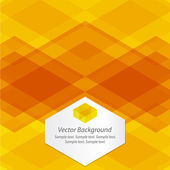 Orange Abstract Geometrical Background — Stock Vector