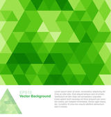 Green Abstract Geometrical Background — Stock Vector
