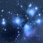 M45 Pleiades — Stock Photo