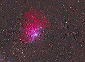 Flaming Star Nebula — Stock Photo