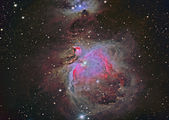 M42 Great Orion Nebula — Stock Photo