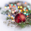 Royalty-Free Stock Photo: New Year and Christmas decoration