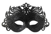 Black carnival mask — Stock Photo