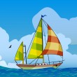 Royalty-Free Stock Vector Image: Sailing ship