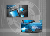 Business cards — Vettoriale Stock