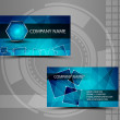 Royalty-Free Stock Vector Image: Business cards