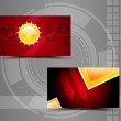 Business cards — Foto Stock