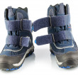 Stock Photo: Blue winter boots