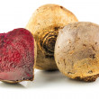 Beets with beet cut - Stock Photo