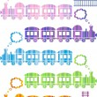 Trains — Stock Vector
