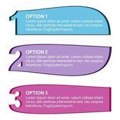 три цветовых вариантов — Cтоковый вектор