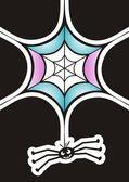 有趣的蜘蛛 — 图库矢量图片