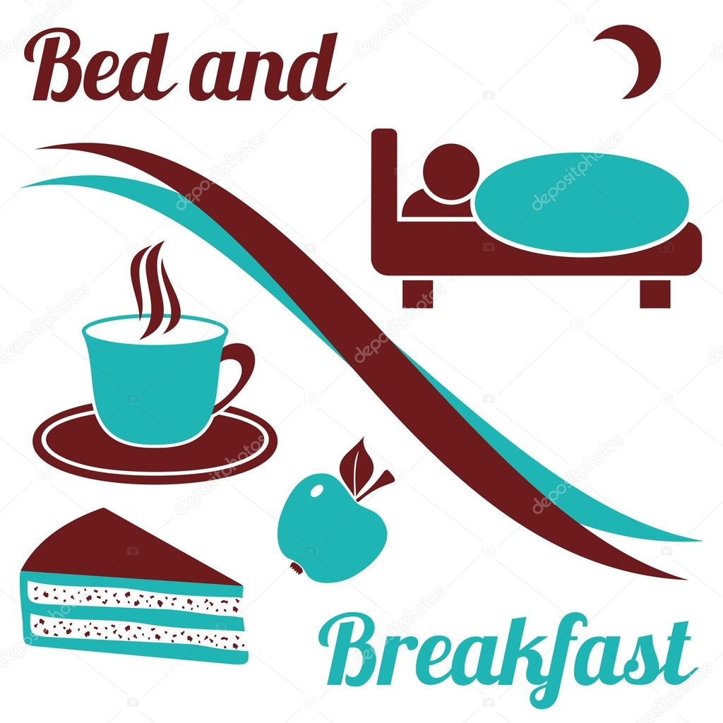 Bed and breakfast stock vector blumer 1979 20175315 for A bed and breakfast