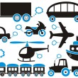 Transport icons — Stock Vector #21702469