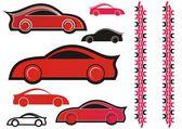 Sport cars icon — Stock Vector