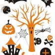 Halloween icons — Stock Vector #29777187