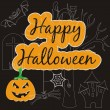 Halloween card — Vector de stock #31234921