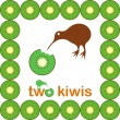 Kiwi bird — Stock Vector