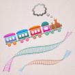 Train — Stock Vector