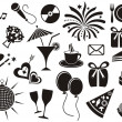 Party icons — Stock Vector #38205973