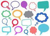 Konuşma balonları — Stok Vektör