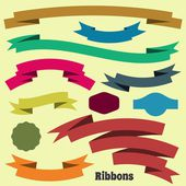 Ribbon banners — Stock Vector