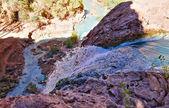 Mouth of Havasu Falls — Stock Photo