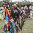 Stock Photo: Native AmericChildren Dancers - Pow Wow