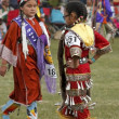 Stock Photo: Native AmericChildren Dancers