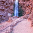 Mooney Falls in Arizona - Stock Photo