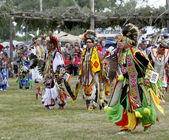 Native American Dancers — Stock Photo