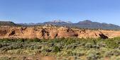 Carretera del desierto — Foto de Stock