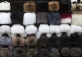 Fur hats — Stock Photo