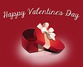 Heppy Valentine's Day 2013 vintage heart — Stock Photo