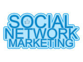 Social Network Marketing, Media, advertising, Brand Reputation, hand like, Sharing, likes, internet business, concept — Stock Photo