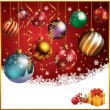 Christmas balls — Vecteur